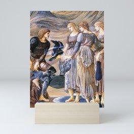 Edward Burne-Jones - Perseus and the Sea Nymphs Mini Art Print