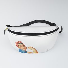 Pro Union Strong - Union Proud Rosie the Riveter Fanny Pack