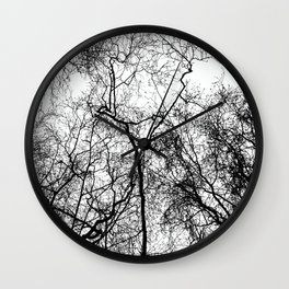 Tree Silhouette Series 4 Wall Clock
