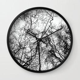 Tree Silhouette Series 4 Wall Clock