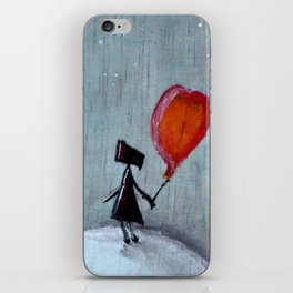 Reflection   Illustration by Angelique Desiree iPhone Skin
