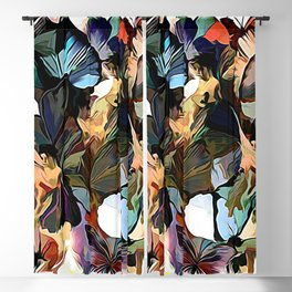 Fairies and Butterflies Communing With Nature Blackout Curtain