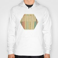 clockwork orange Hoodies featuring Old Books by Cassia Beck