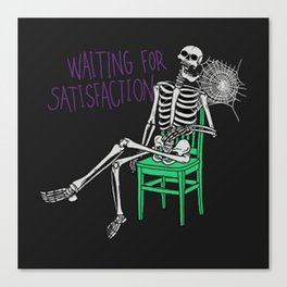 still-waiting-t-shirt Canvas Print