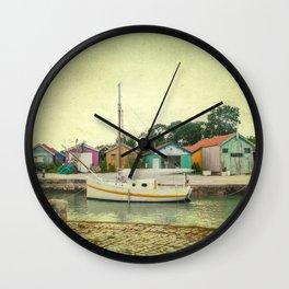 Journée d'été Wall Clock