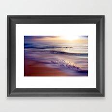 caribbean dream (violet) Framed Art Print