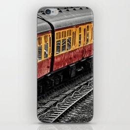 Waiting For A Train iPhone Skin