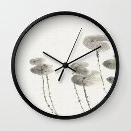 Summer shrimp Wall Clock