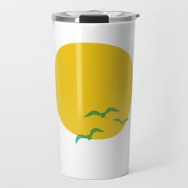 Midsummer Sun Travel Mug