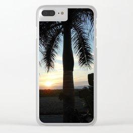"""""""Sunset in Puerto Vallarta Clear iPhone Case"""