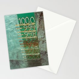 water level Stationery Cards