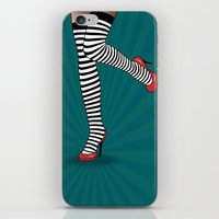 sexy iPhone & iPod Skins featuring sexy  by mark ashkenazi