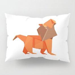 Origami Lion Pillow Sham