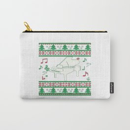 Piano Christmas Carry-All Pouch