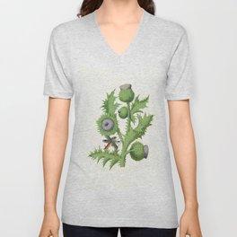 The Thistle Botanical Unisex V-Neck
