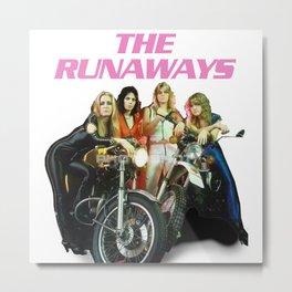 Joan Jett and The Runaways Metal Print