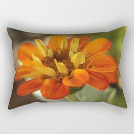 Marigold Flower Rectangular Pillow