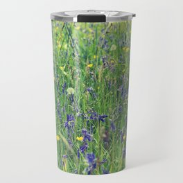 Flower Meadow Travel Mug
