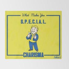 Charisma S.P.E.C.I.A.L. Fallout 4 Throw Blanket