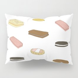 biscui - biscuit pattern Pillow Sham