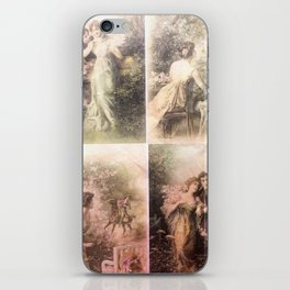 Floral pattern lovers iPhone Skin