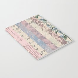 Vintage Shabby Florals Notebook
