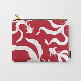 Gentle Glide | Pantone - Goji Berry Carry-All Pouch