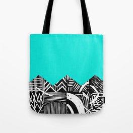 Sky lino bright Tote Bag