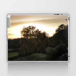 End of a lovely day Laptop & iPad Skin