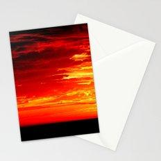 Fiery Sky Stationery Cards