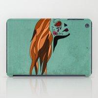 dia de los muertos iPad Cases featuring Dia De Los Muertos by Caitlin Victoria Parker