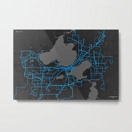Madison, Wi Metal Print