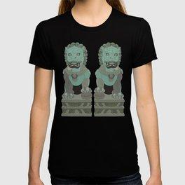Lion Statues T-shirt