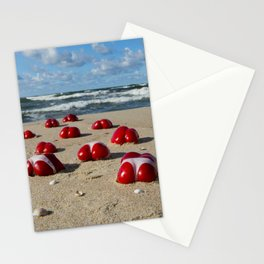 Red Hot Peppers Stationery Cards
