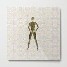 Deep Style Digital Pattern 03 Metal Print