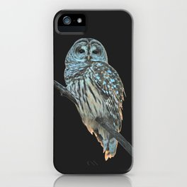 Owl, See the Moon iPhone Case