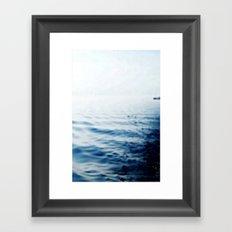 A long journey Framed Art Print