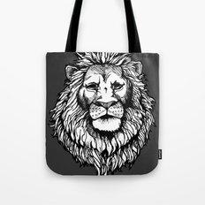 Lion (on dark) Tote Bag