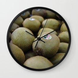 Endless Kiwis Wall Clock