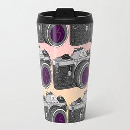 Pentax Pattern Travel Mug