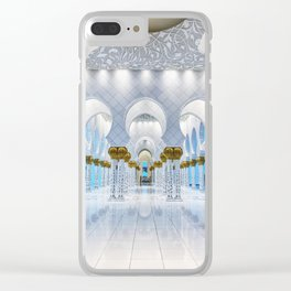 Grand Mosque Clear iPhone Case