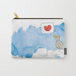 The bird on the cloud Carry-All Pouch