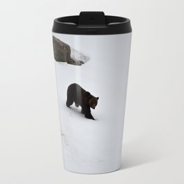 1st bear of the season and its a grizzly - Jasper National Park   Canada Travel Mug
