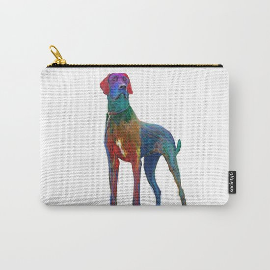Great Dane Uncropped Carry-All Pouch