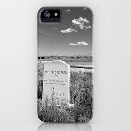 Wyoming iPhone Case