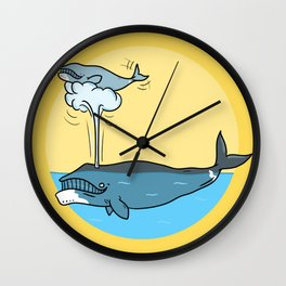 Whalesome Wall Clock