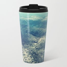 from above Metal Travel Mug