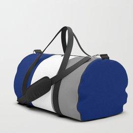 Team Colors 2...Blue,gray Duffle Bag