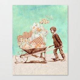 Cloud Carrier Canvas Print
