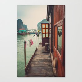 Fisherman's Backyard Canvas Print